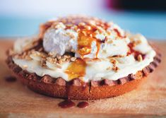 Banana Cream Pie with Salty Bourbon Caramel