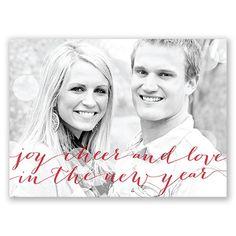 It's a holiday card. It's a save the date. It's a postcard! From www.invitationsbydawn.com