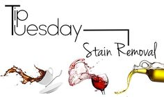 TIP TUESDAY: DIY STAIN REMOVALS