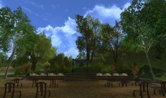 The Methel-Stage. The Shire. #lotro