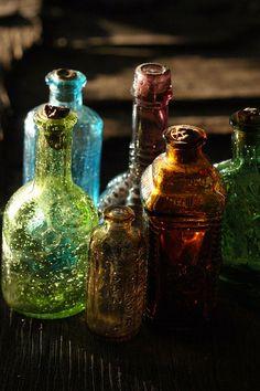 antique bottle love