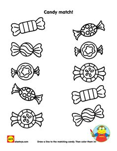 Valentine's Day Printables – Valentinstag Nursery Worksheets, Preschool Worksheets, Free Preschool, Preschool Learning, Coloring Books, Coloring Pages, Colouring, Candy Theme Birthday Party, Valentines Day Drawing