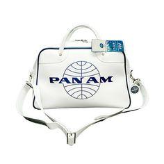 Pan Am Orion Bag Vintage White