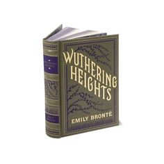 Wuthering Heights (Barnes Noble Leatherbound Classics Series) found on Polyvore featuring books, filler and magazine