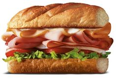 A fast casual downsizes its sandwiches to boost traffic. Firehouse Restaurant, Firehouse Subs, Honey Ham, Smoked Turkey, Food Trends, Turkey Breast, Roast Beef, Food Service, Sandwiches