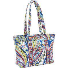 Vera Bradley Mandy Marina Paisley - Vera Bradley Fabric Handbags from Yvonne's Fabric Handbags, Vera Bradley, Paisley, Fashion Shoes, Stuff To Buy, Shopping, Blog, Products, Fabric Purses