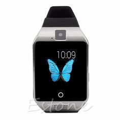 61.85$  Buy now - http://alir5o.worldwells.pw/go.php?t=32604478592 - Bluetooth Smart Wrist Watch SIM Slot For Android Samsung Galaxy S6 S5 S4 Mini LG 61.85$