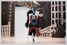 Picasso's set design for 'Parade'