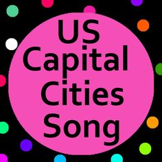 With the US Capital Cities song (and lyrics), kindergarten and grade school students learn the capital cities in each state in the United States.  US Capital Cities song uses a memorable rhyming verse that helps children develop automatic recall of American geography facts.