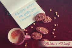 Biscottoni al cacao con frutta secca e cioccolato bianco | Ali babà e i 40 biscotti