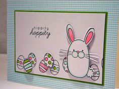 Easter Card by apaperaffaire on Etsy, $4.00