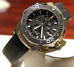 Tag Heuer Aquaracer 500M Automatic Chronograph Watch Hands-On