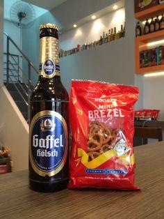 Gaffel Kölsch x Pretzel  #cerveja #harmonizacao #beer #food #pairing