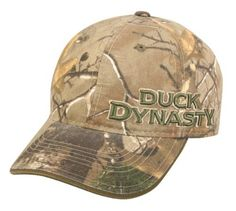 4d415b98e964e Duck Commander Duck Dynasty Side Logo Real Tree Xtra Washed Cotton Cap