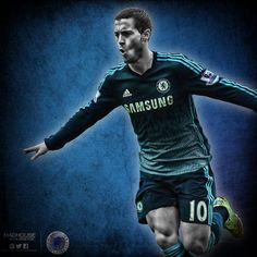 EDEN HAZARD Fc Chelsea, Chelsea Football, Eden Hazard Chelsea, Chelsea Players, Editing Pictures, Best Player, Blues, Soccer, Chevy
