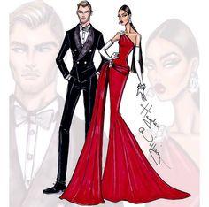 'Best Dressed' - Hayden Williams #fashion #haydenwilliams #illustration
