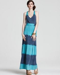 I am still afraid to wear maxi dresses- due to looking like a little person, but I do like this one.