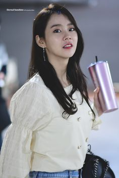 Han Seung Yeon, Kara, Ruffle Blouse, Cute, Entertainment, Artists, Girls, Tops, Women