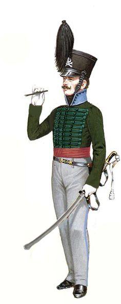 Brunswick Rifles Officer
