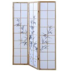 Paravent Rekha World Menagerie Anzahl der Paneele: 3 Paneelen Mystery Room, Marble Room, 4 Panel Room Divider, Exotic Art, Modern Interior, Beautiful Homes, Indoor, Home Decor, Cherry Blossom