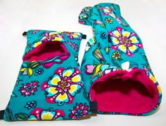 Blue Flowers Bedding Set by FerretLove on Etsy, $25.00 small pets, sugar gliders, rats, chinchillas, guinea pigs, ferrets