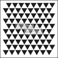 """Crafter's Workshop triangle template  www.PageAdditions.com   12"""" x 12"""" is $6.00 & the 6"""" x 6"""" is $4.00"""