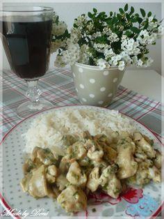.. Krkonošský mls .. MOC DOBRÉ Czech Recipes, Ethnic Recipes, Snack Recipes, Snacks, Potato Salad, Recipies, Meat, Chicken, Cooking