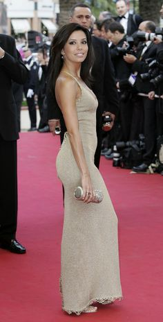 "Eva Longoria Photos: Cannes - Premiere of ""Where the Truth Lies"""