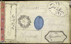 Anne Wagner album, 1795-1834.  Venus in sole visa. .... (1795-1834)