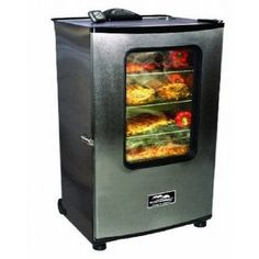 ELECTRIC FOOD BARBEQUE BBQ GRILL MEAT SMOKER PATIO OUTDOOR GRILLING SMOKING