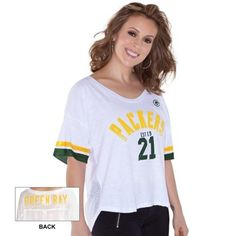Green Bay Packers Touch by Alyssa Milano Women's 50 Yard Line ...