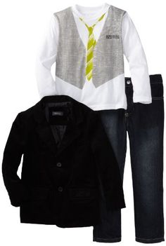 Kenneth Cole Boys 2-7 Blazer Shirt and Jean « Clothing Impulse