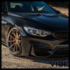 """20"""" BLAQUE DIAMOND BD23 BRONZE CONCAVE WHEELS RIMS FITS BMW 528 530 535 545 550"""