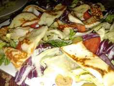 Halumi Salad