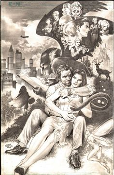 Bigby Wolf, Snow White and All of Fables by Lan Medina