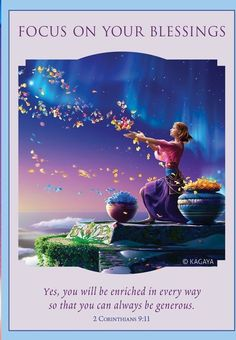 Love & Light Oracle ~Doreen Virtue, Focus on your blessings 🌠🌠 Yes you will be enriched in every way ,So that you can be generous Angel Guidance, Spiritual Guidance, Signs From The Universe, Angel Quotes, Oracle Tarot, Angel Cards, Card Reading, Love And Light, Blessed