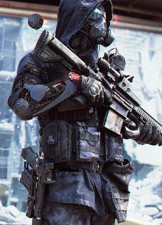 by Abrar Khan – Cyberpunk Gallery Character Concept, Character Art, Tactical Armor, Arte Cyberpunk, Cyberpunk Anime, Futuristic Armour, Sci Fi Armor, Templer, Future Soldier