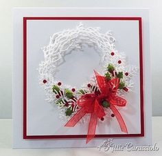 Twig Wreath - could be done with MS punch