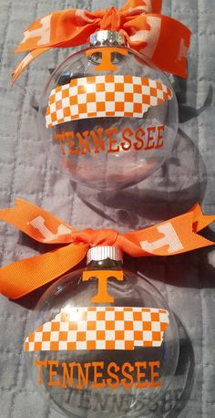 Tennessee Ornament University of Tennessee by TickleMeTurquoise