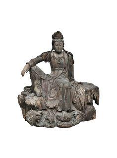 Late Ming Dynasty Seated Bodhisattva Avalokitesvara