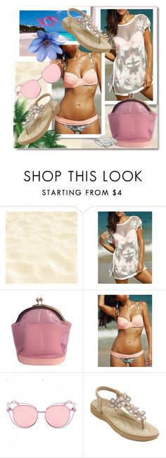"""""""TwinkleDeals: Bikini"""" by andrea2andare ❤ liked on Polyvore featuring GALA"""