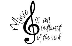 Music is an outburst of the soul.