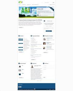 Site de Congresso de Avaliação de Impacto feito em WordPress.