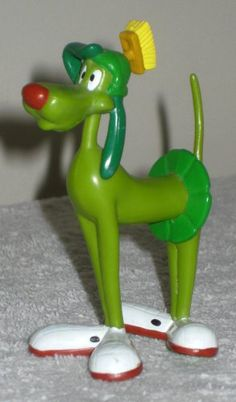 Commander K-9 K9 Canine PVC Figure Alien Space Dog Applause 1998 Marvin the Martian Looney Tunes $20