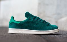 "adidas Stan Smith ""Rich Green"" (Suede) - EU Kicks: Sneaker Magazine"