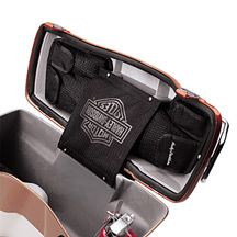 Saddlebag Lid Organizers - I need this!
