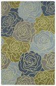 Kaleen Fennel blue rug