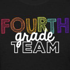 Fourth Grade Team | Playfull | Women's Classic | Teacher T-Shirts