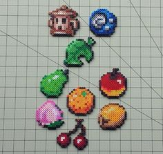 Items and Fruit - Animal Crossing Sprites by MaddogsCreations.deviantart.com on @DeviantArt