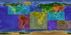 "NASA CREW EARTH OBSERVATIONS VIDEOS:  This clickable map organizes all of the existing time-lapse sequences into geographical regions. These videos are organized to both aid in searching for a desired area of the Earth, and to break down the volume of the existing time-lapse sequences. Each region below is separated by different colors, as well as links below the clickable map to the ""Aurora Borealis and Australis"" and ""Special Videos""."